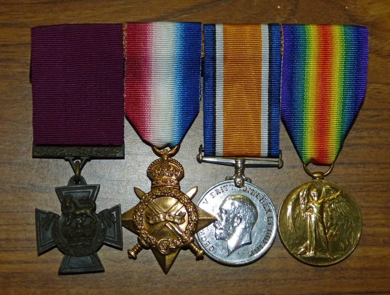 Medals of Private Jacob Rivers VC